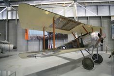 Sopwith Camel, with some wing & fuselage skin removed to expose the wooden construction & wing spars. AUSTRALIAN NAVAL AVIATION MUSEUM – NOWRA.
