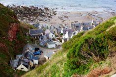 Gardenstown, Moray Firth, the Highlands, Scotland