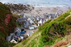 Gardenstown, Moray Firth, the Highlands, Scotland