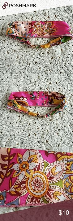 Floral Headband Cute headband with floral print. Accessories Hair Accessories