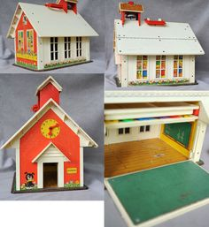 Fisher Price Little People Schoolhouse Vintage by TheGirlsandTim, $40.00