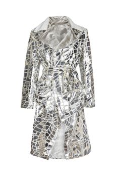 Moxos, Construction, silver coat. To download high or low resolution product images view Mondrianista.com (editorial use only).