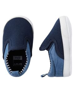 Baby Boy Carter's Slip-On Sneaker Crib Shoes | Carters.com