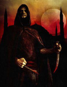 Dark Ages: Vampire - Assamite by Z-GrimV on deviantART