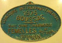 Selection of Vintage French Plaques  Equestrian by Decofanatique, $27.00