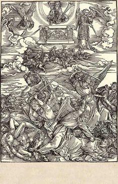 9. The 4 Euphrates angels / Dürer, Albrecht / The Apocalypse [series] #9 of 16