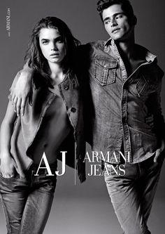 Giorgio Armani - Armani Jeans F/W 12 #Jeans #Advertising #ArmaniJeans