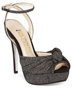 E! Live From the Red Carpet Shoes, E0037 Platform Evening Pumps - SALE & CLEARANCE - Shoes - Macy's