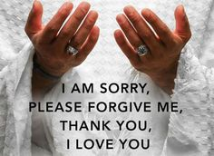 The mantra at the heart of Ho'oponopono (forgiveness)