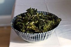 Kale Chips Recipe - 10 Flavored Vegetable Chip Recipes