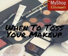 Did you know that makeup has a lifespan? Using old cosmetics puts you at risk for infections - check this guide to know when it's time to toss your makeup!