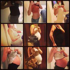 Minha gravidez em nove fotos   Ale Garattoni