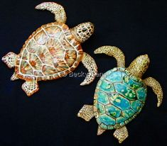 Ceramics-Animals-Becky Dennis: Journey of Turtles.