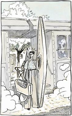 Sento Llobell: «Deseo disfrutar contando historias con dibujos y nada más, no repartir mi tiempo con otras cosas»