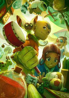 Avatar: The Last Toy Vendor by Ry-Spirit