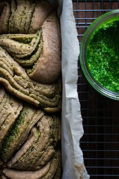 Babka au Pesto d'Ail des Ours & Chèvre | In the mood for food