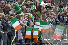 St. Patrick's Day Parade celebrations, Dublin, Republic of Ireland (Eire), Europe