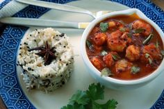 Prawn madras curry, quick and easy South African Recipes, Indian Food Recipes, Ethnic Recipes, Indian Prawn Curry Recipe, Garam Masala, Chana Masala, Madras Curry, Kiss The Cook, Curry Recipes