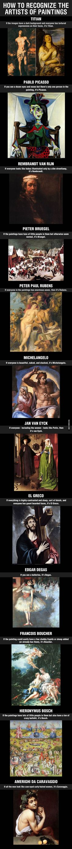 How To Appear Knowledgeable In Art Despite Knowing Nothing About It - 9GAG