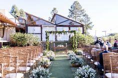 Casamento Rústico Chic com cerimônia ao ar livre – Mari