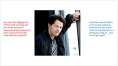 Misha Collins | The Men Of Tumblr As Explained By Someone's Mom and brother  #Supernatural
