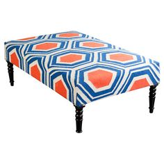 Emerson Upholstered Ottoman  at Joss and Main