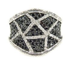 Sterling Silver 1ct Black Diamond Ring. Get the lowest price on Sterling Silver 1ct Black Diamond Ring and other fabulous designer clothing and accessories! Shop Tradesy now