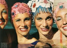 Love the smiling faces in this vintage photo! When casting models for The Style Aquatic, we searched for ladies who embodied the fun, carefree vibe of a hot summer day! #swim #style