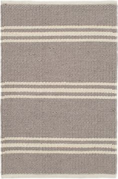 #DashandAlbert Lexington Grey/Ivory Indoor/Outdoor Rug. Go grey the all-natural way with this indoor/outdoor rug, featuring goes-with-anything grey stripes on a earth-hued background. Made from easy-care, eco-friendly PET, this durable area rug is perfect for the porch, hallway, bedroom, and everywhere in between!