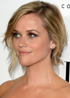 Reese Witherspoon Updo Hairstyle: Chignon - Love the color
