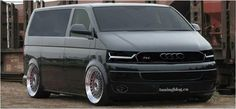 VW T5 Bus Audi TS6 Bus Tuning BBS Felgen photo