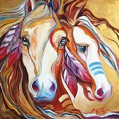 Horse animal Diamond Painting Oil Round Full Drill living room Nouveaute DIY Mosaic Embroidery Cross Stitch home decor gifts Horse Drawings, Animal Drawings, Art Drawings, Native American Horses, Indian Horses, Horse Artwork, Painted Pony, American Indian Art, American War