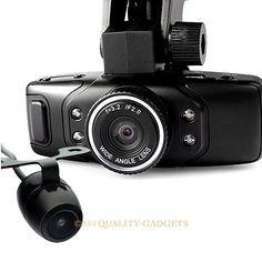 Hd Dv Dual Camera Lens Car Vehicle Dvr Cam Dash Video Recorder G-sensor Motion - http://www.carcamerareviews.co.uk/blackvue/hd-dv-dual-camera-lens-car-vehicle-dvr-cam-dash-video-recorder-g-sensor-motion/