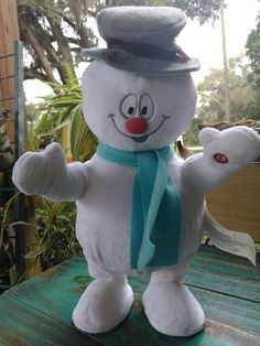 Gemmy Frosty the Snowman Side Stepper Singing Dancing Plush #Gemmy #Christmas