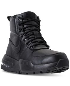 6a0dc6da829d Nike Men s Air Max Goaterra 2.0 Boots from Finish Line - Black 10.5 Mens Nike  Air