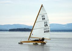 Today's Photo: ncpr.org. Lake Champlain , yes, that's ice!