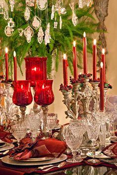 Christmas Decor - mediterranean - dining room - chicago - Spallina Interiors