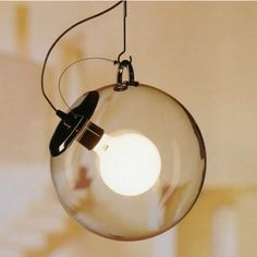 The Miconos Suspension Light by Ernesto Gismondi for Artemide has achieved iconic status; $790 at Y Lighting.