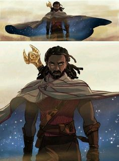 Heimdall (This is possibly the dopest fan art featuring him that I've ever seen)