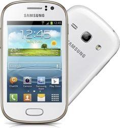 White Samsung Galaxy Fame