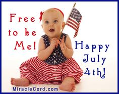 Be Free! Happy 4th of July! MiracleCord.com #fourthofjuly #freedom