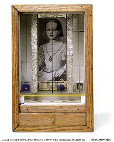 "Medici Princess,"" c.1948 by Joseph Cornell (1903-1972)"