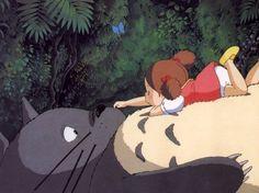 /My Neighbor Totoro/#526549 - Zerochan | Hayao Miyazaki | Studio Ghibli / Kusakabe Mei and Totoro