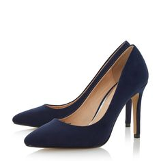 Every women needs a classic court shoe to see her through all occasions. Alice is a slip on style featuring a slim high heel and pointed toe. This versatile piece is perfect for both work and play.