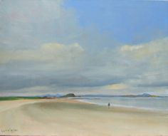 Scottish Paintings | Malcolm Ludvigsen North Berwick.  Oil on canvas 30x24''
