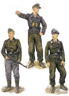 Uniformi delle unità semoventi della Hermann Goering Division, pin by Paolo Marzioli
