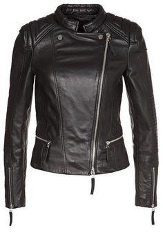 WomenS Leather Motorcycle 100% Biker Jacket Real Genuine Soft Lambskin Wj-286