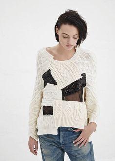 junya watanabe patchwork knit « Outi Les Pyy