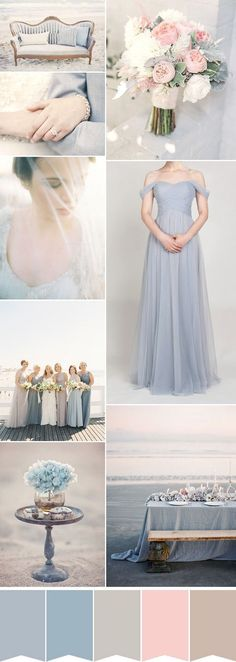 Nice 50 Stunning Beach Wedding Color Ideas for this Summer https://bridalore.com/2017/04/28/50-stunning-beach-wedding-color-ideas-for-this-summer/