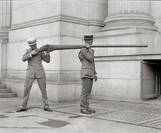Arma para a caça de patos. Começo do século XX.